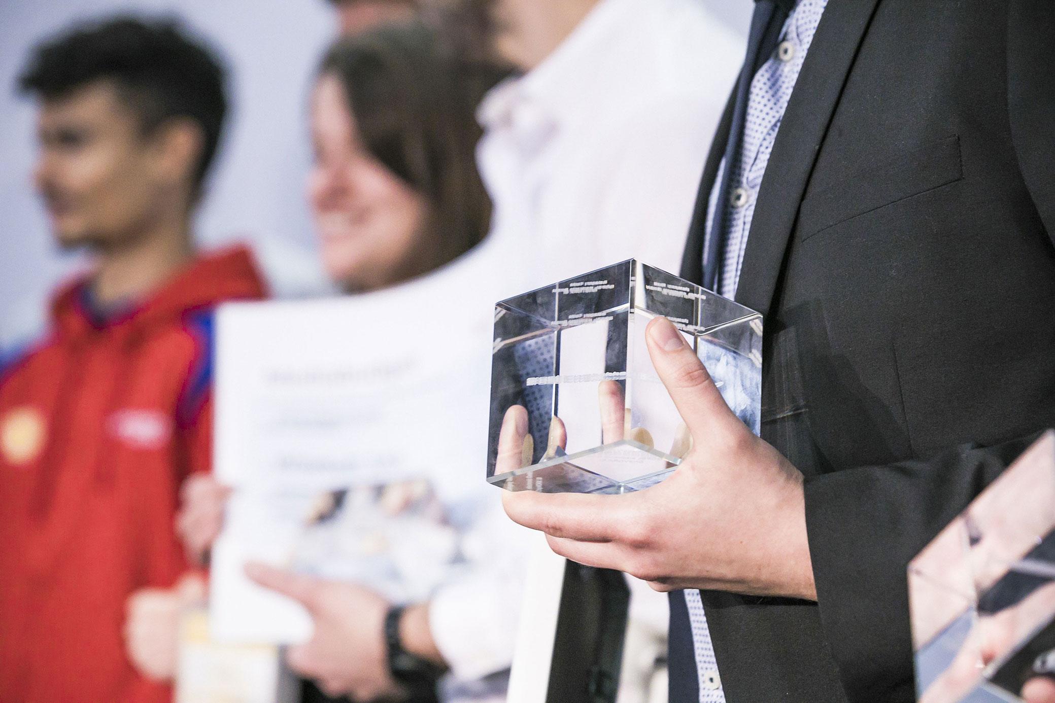 Verleihung embedded award