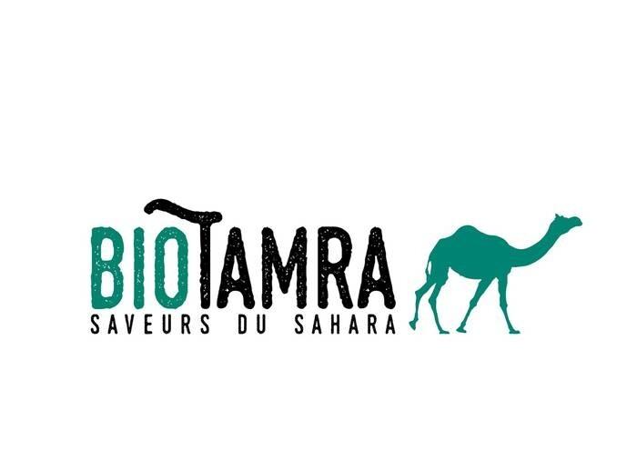 "LOGO_BIOTAMRA ""Les Saveurs du Sahara"""