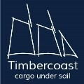 LOGO_Timbercoast - cargo under sail - nachhaltig fair