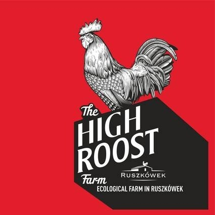 LOGO_THE HIGH ROOST FARM - ECOLOGICAL FARM IN RUSZKOWEK