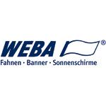 LOGO_WEBA Fahnen GmbH  Co. KG Fahnen, Banner, Sonnenschirme