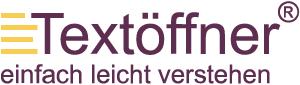 LOGO_Textöffner® - Die LeichtSinnigen Büro für Leichte Sprache