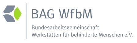LOGO_Bundesarbeitsgemeinschaft Werkstätten für behinderte Menschen e. V.  (BAG WfbM)