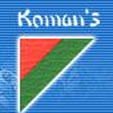 LOGO_Ningbo Koman's Refrigeration Industry Co.,Ltd