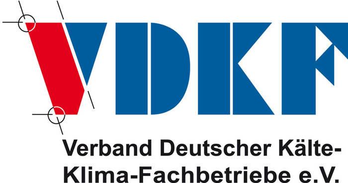 LOGO_VDKF Verband Deutscher Kälte-Klima- Fachbetriebe e.V.