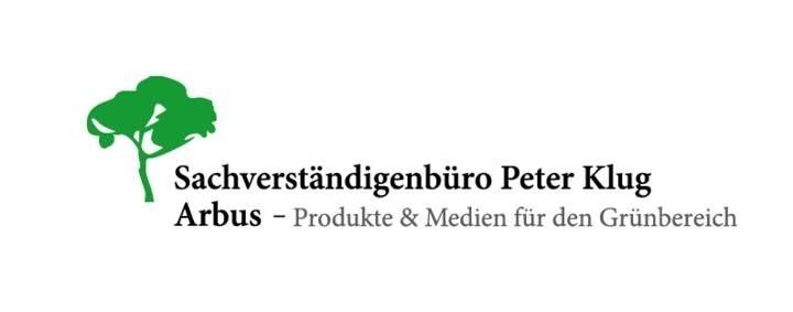 LOGO_Arbus - Produkte & Medien für den Grünbereich Sachverständigenbüro Peter Klug