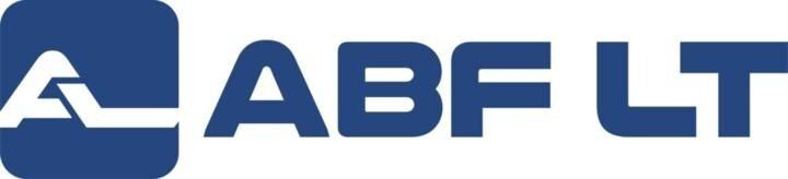 """LOGO_Uzdaroji akcine bendrove """"ABF LT"""""""