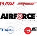 LOGO_Airforce Airguns, BKL Technologies, Raw, Gunpower, Theoben