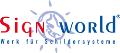 LOGO_SignWorld, Werk für Schildersysteme