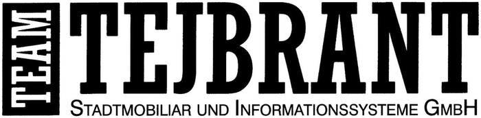 LOGO_Team Tejbrant Stadtmobiliar und Informationssysteme GmbH