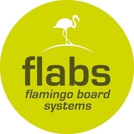 LOGO_flabs flamingo board systems