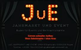 LOGO_JuE Jahrmarkt und Event GmbH Buden für Events und Weihnachtsmärkte
