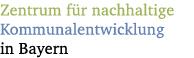 LOGO_Zentrum für nachhaltige Kommunalentwicklung in Bayern c/o LBE Bayern e.V.