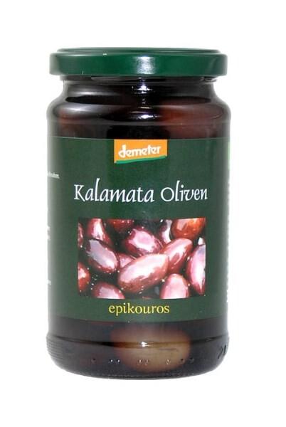 LOGO_Biodynamic Kalamata olives in extra virgin olive oil