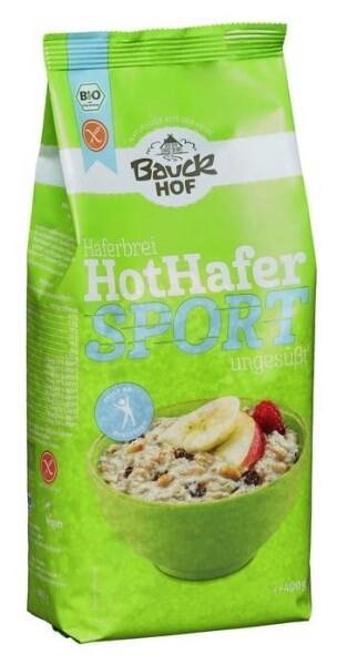 LOGO_Hot Hafer Sport, proteinreich, glutenfrei