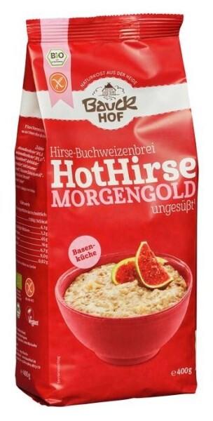 LOGO_Hot Hirse Morgengold, glutenfrei