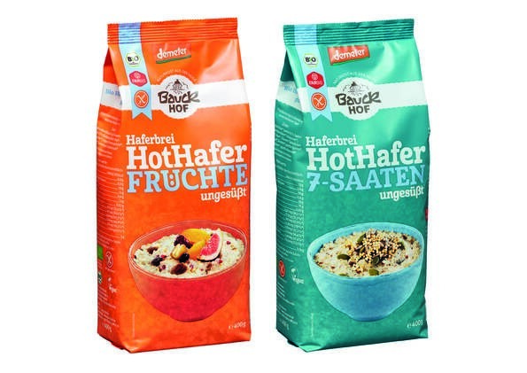 LOGO_Hot Hafer Früchte und Hot Hafer 7-Saaten, glutenfrei