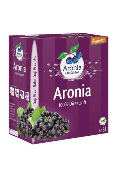 LOGO_Organic Aronia Juice Direct Juice (3l Box)