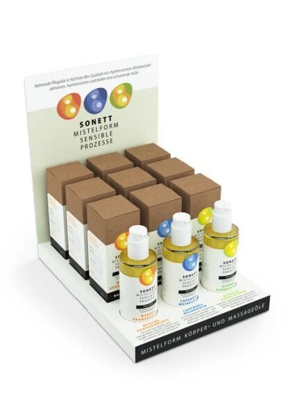 """LOGO_""""SONETT MISTELFORM SENSIBLE PROZESSE Body Care Oils"""""""
