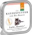"""LOGO_Lachs """"Sensitiv"""" Pâté für Katzen"""