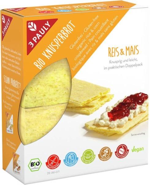 LOGO_Glutenfreies Bio-Knusperbrot Reis & Mais