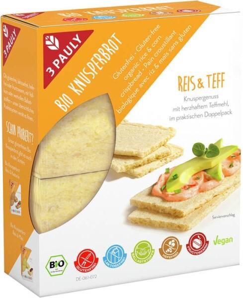 LOGO_Glutenfreies Bio Knusperbrot Reis & Teff