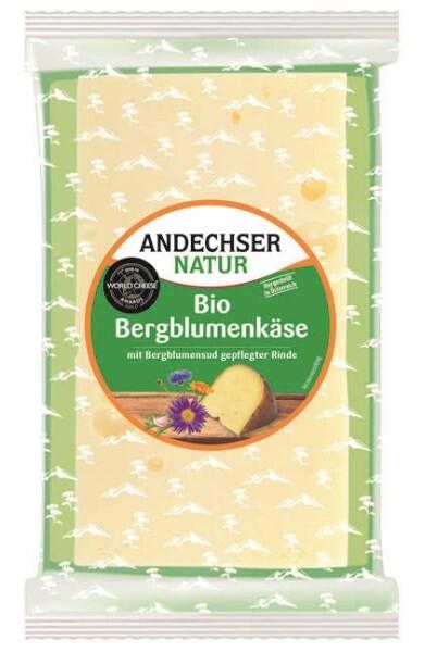 LOGO_ANDECHSER NATUR Bio-Bergblumenkäse 150g Keil