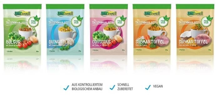LOGO_Bio4Well Tassenmahlzeit Fix Vegan