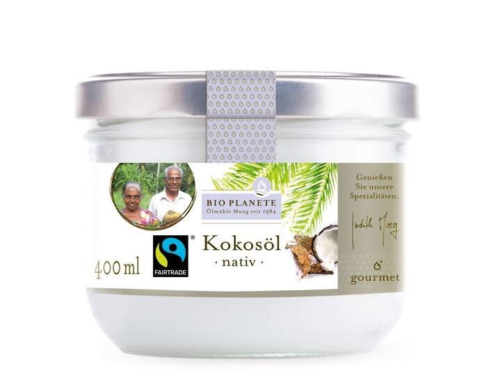 LOGO_Kokosöl nativ - FAIR TRADE, 400 g