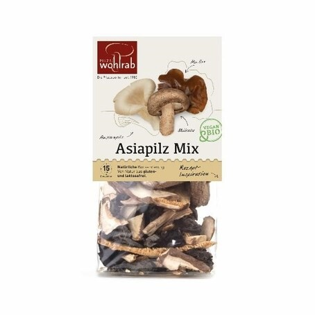 LOGO_Asiapilz Mix  -  getrocknete Asia Pilze Bio 30 g