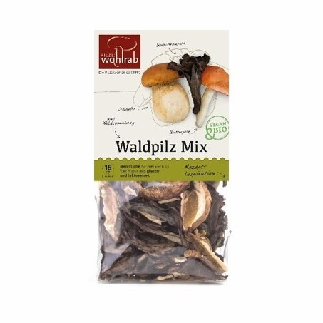 LOGO_Waldpilz Mix – getrocknete Wald Pilze Bio 30 g