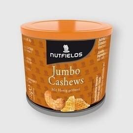 LOGO_Bio Jumbo Cashews in Honig geröstet