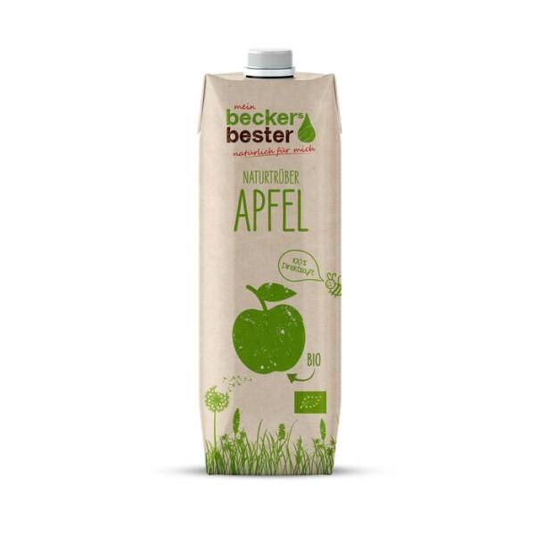 LOGO_Organic apple juice in Tetra Pak Craft packaging