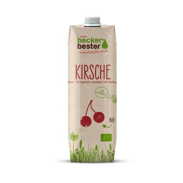 LOGO_Organic cherry nectar in Tetra Pak Craft packaging