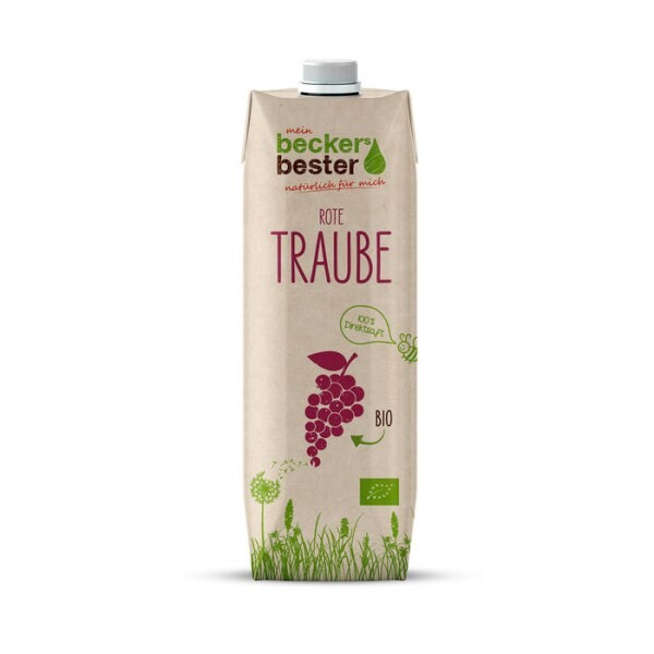 LOGO_Organic grape juice in Tetra Pak Craft packaging