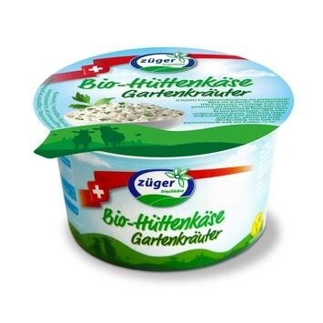 LOGO_Züger organic cottage cheese herbs