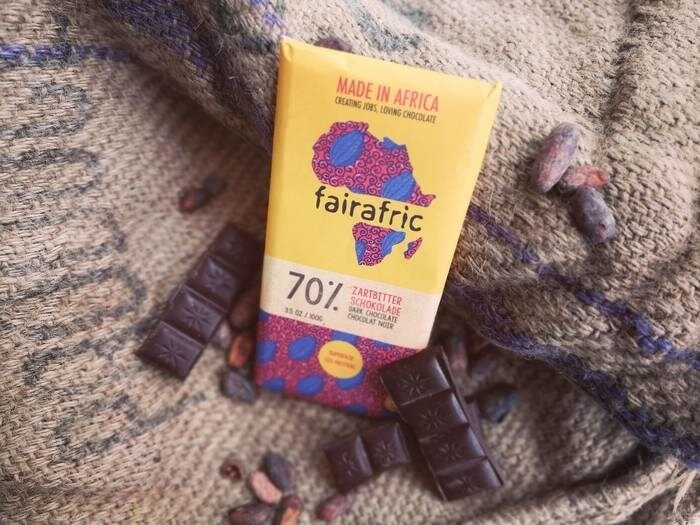 LOGO_The fairafric-classic - Dark Chocolate with 70% Cocoa