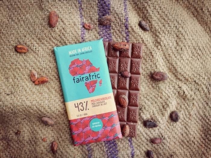 LOGO_fairafric - Milk Chocolate with an Extra Portion of Cocoa
