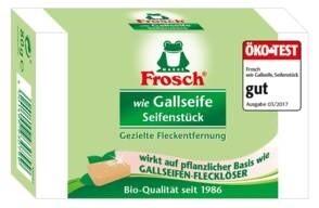 LOGO_Frosch wie Gallseife Seifenstück 80g