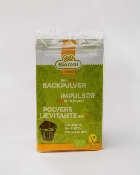 LOGO_Bioreal® Organic Baking Powder