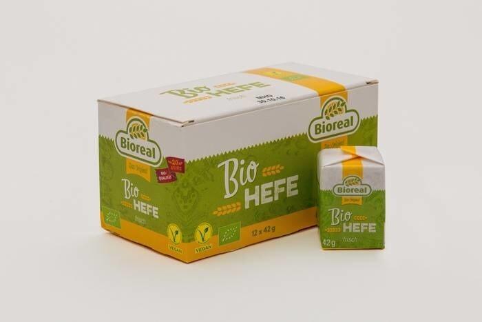 LOGO_Bioreal® Bio-Frischhefe 42 g