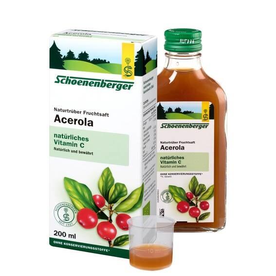LOGO_Schoenenberger® Acerola Naturtrüber Fruchtsaft bio* 200 ml