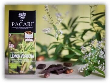 LOGO_Pacari Dark Organic Chocolate Bar with Lemongrass (50 g)