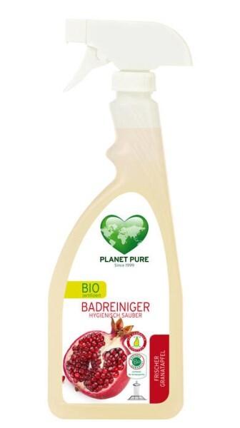 LOGO_BIO Badreiniger Hygienisch Sauber GRANATAPFEL
