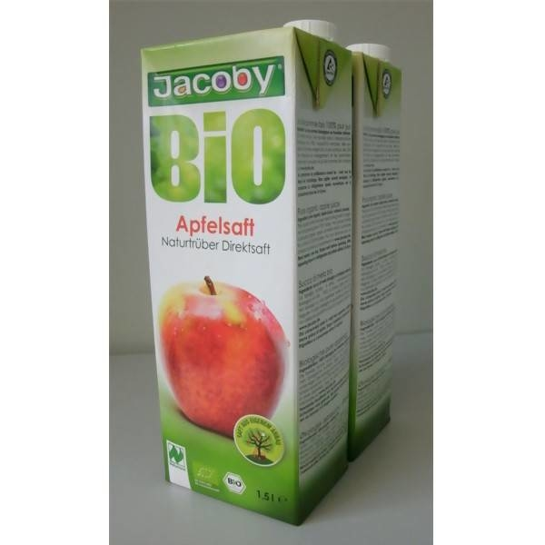 LOGO_Jacoby organic apple juice Naturally cloudy juice