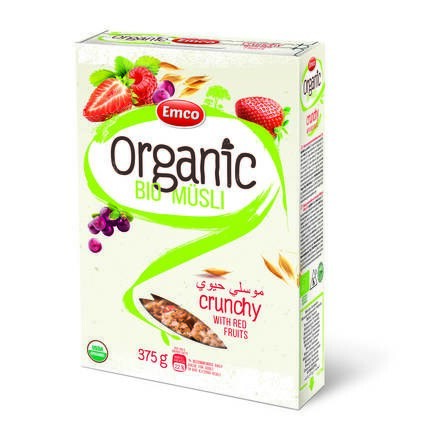 LOGO_Organic Bio Crunchy Müsli with Red Fruits 375g P14