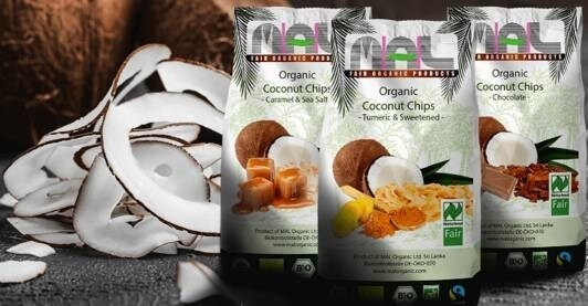 LOGO_Organic Flavoured Coconut Chips