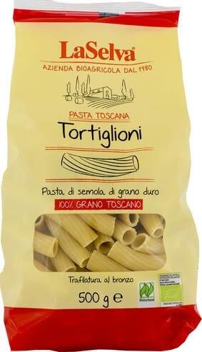LOGO_Pasta Toscana - Tortiglioni aus Hartweizen