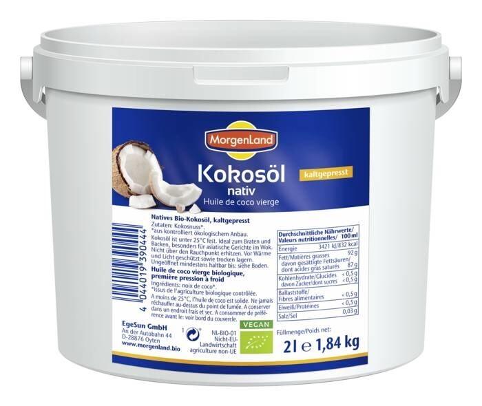 LOGO_MorgenLand coconut oil natively 2 Liter