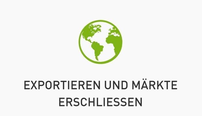 LOGO_Exportieren und Märkte erschließen